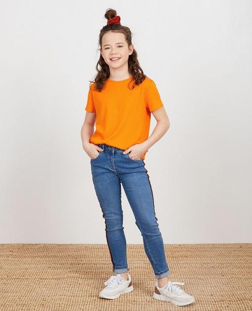Shirt aus Biobaumwolle und Leinen I AM - eco basic - I AM