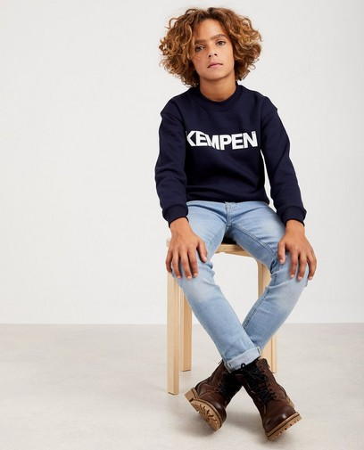 Blauwe unisex sweater KEMPEN™