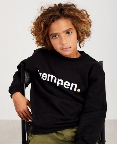Zwarte unisex sweater KEMPEN™