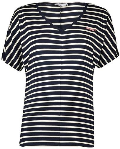 T-shirt bleu rayé JoliRonde