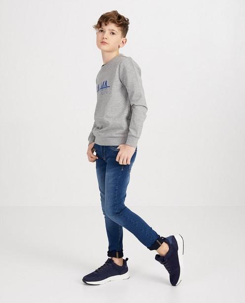 Blauwe slim jeans Simon - BESTies - met wassing - Besties