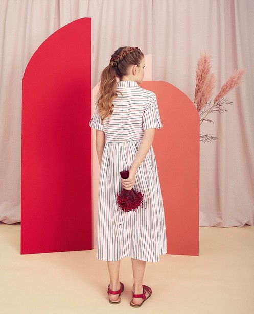 Kleedjes - Gestreepte jurk Communie