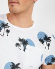 T-shirts - Wit T-shirt met print Noize