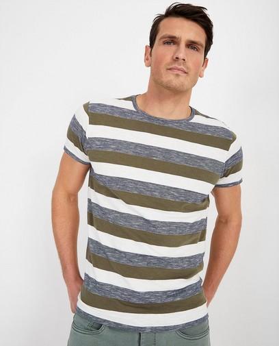 T-shirt met strepenpatroon Noize