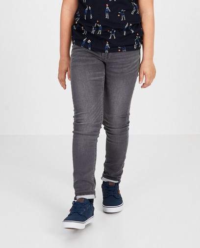 Grijze skinny jeans Studio 100