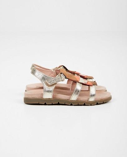 Sandalen met kwastjes