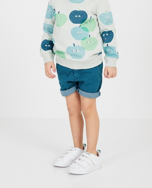 Shorts - Bermuda bleu vert