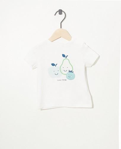 Wit T-shirtje van biokatoen