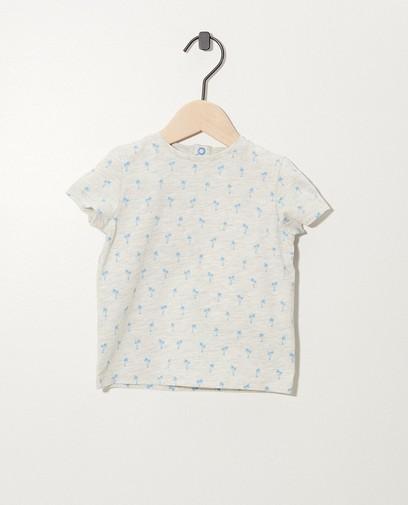 T-Shirt mit Print aus Biobaumwolle