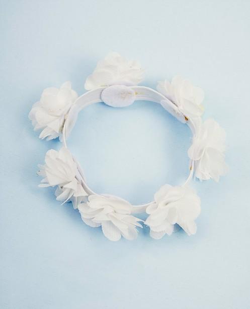 Accessoire fleuri Communion - blanc - JBC