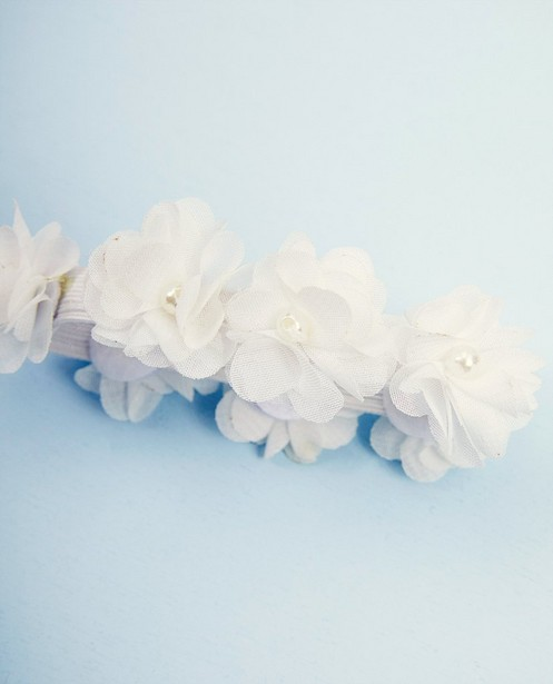Bonneterie - white - Accessoire fleuri Communion