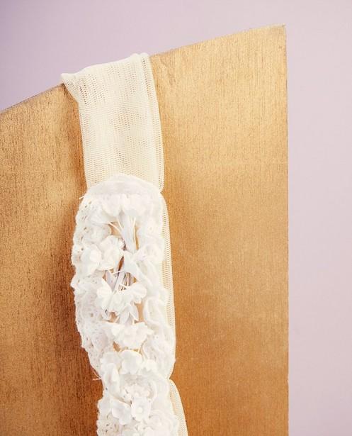 Bonneterie - white - Bandeau fleuri Communion