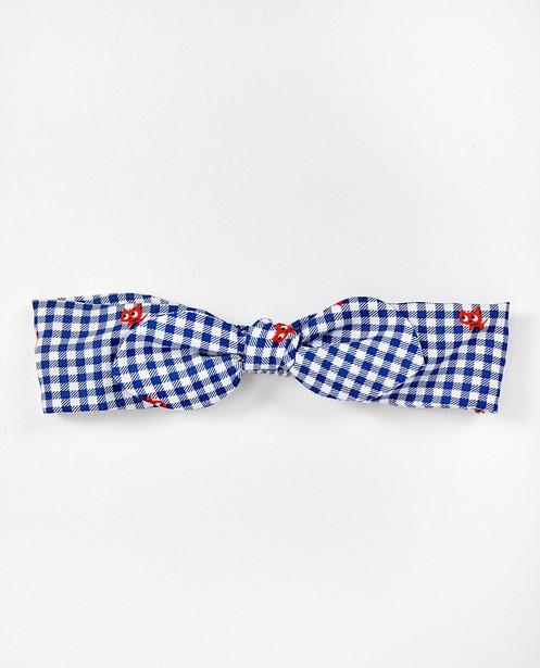 Bandeau bleu et blanc - imprimé et nœud - Milla Star