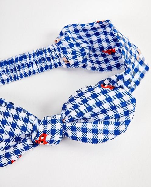 Bonneterie - Bandeau bleu et blanc