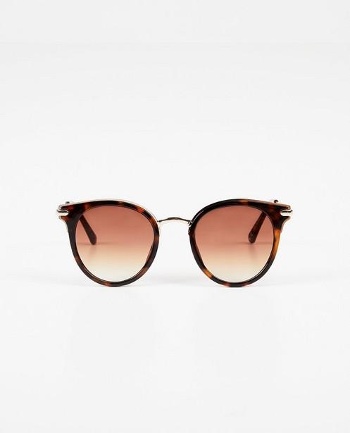 Bruine zonnebril - uv-categorie 3 - Pieces