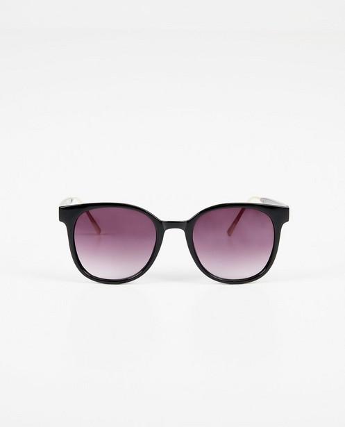 Zwarte zonnebril - 100% uv-bescherming - Pieces