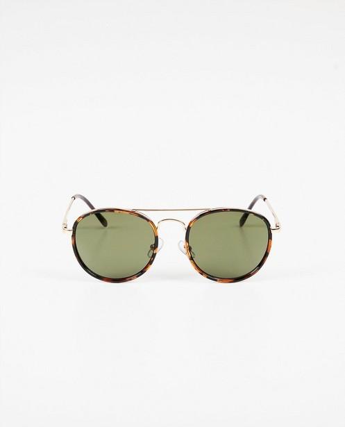 Lunettes de soleil brun-noir - lunettes aviateur - Pieces