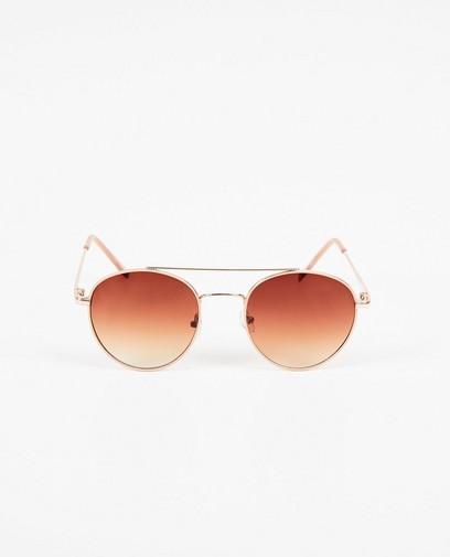 Roze-gouden pilotenzonnebril
