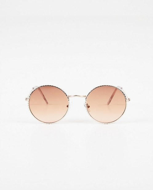 Ronde zonnebril - uv-categorie 2 - Pieces