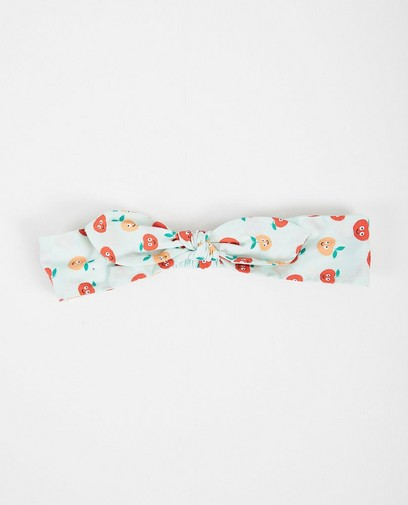Haarband mit Apfelprint