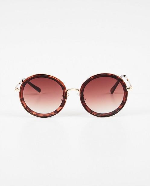 Grandes lunettes de soleil rondes - protection UV 100% - Pieces