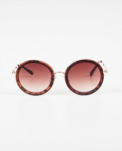 Grandes lunettes de soleil rondes