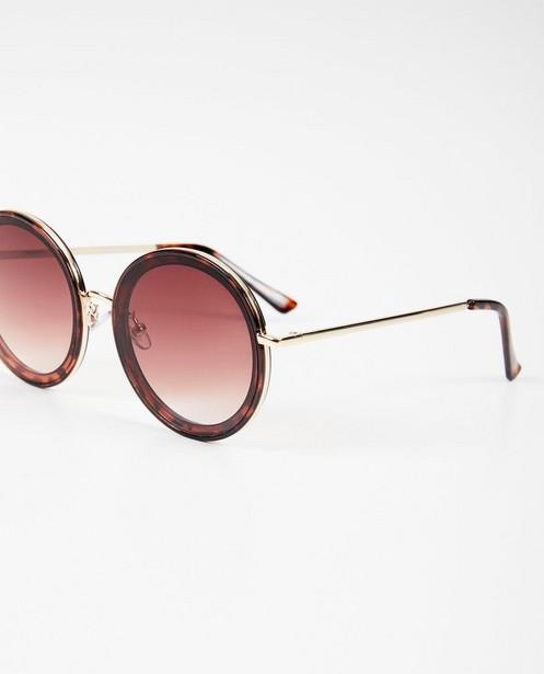 Lunettes de soleil - Grandes lunettes de soleil rondes