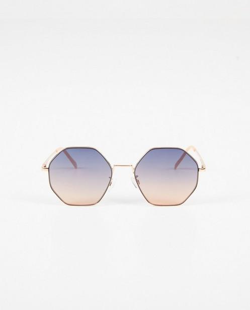 Zonnebril met hoekige glazen - 100% uv-bescherming - JBC