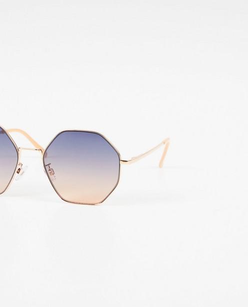 Zonnebrillen - Zonnebril met hoekige glazen
