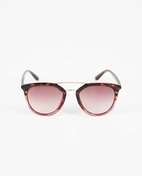 Bruine zonnebril - 100% uv-bescherming - JBC
