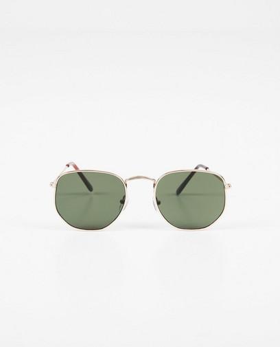 Zilverkleurige zonnebril