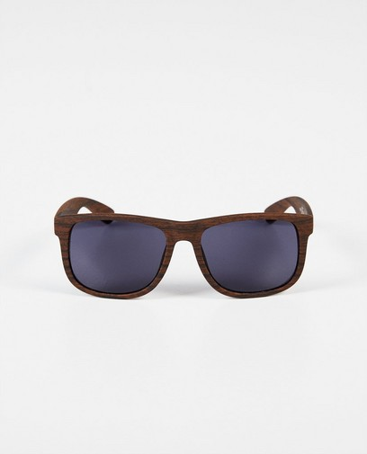 Zwembril met houtlook
