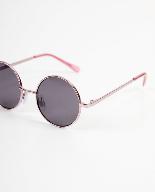 Zonnebrillen - Ronde babyzonnebril in roze