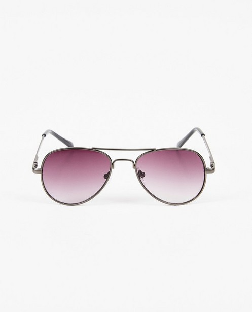 Zwarte zonnebril in pilot-style - pilotenbril - JBC