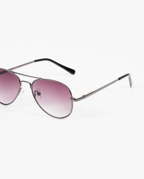 Zonnebrillen - Zwarte zonnebril in pilot-style
