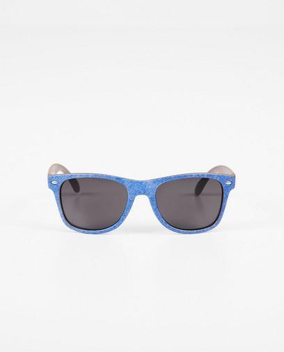 Lunettes de soleil bleues