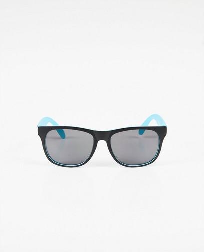 Schwarz-blaue Sonnenbrille