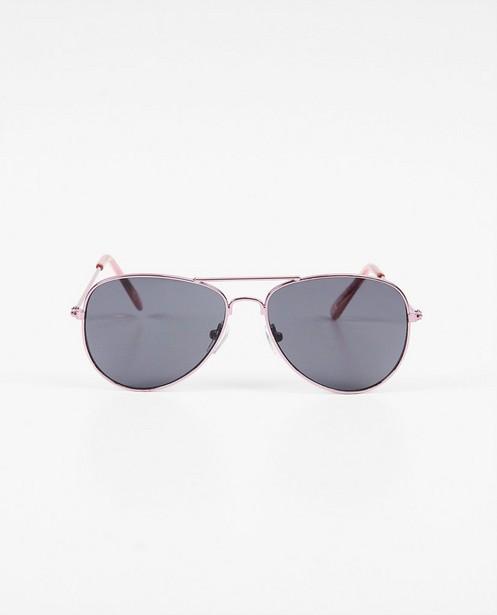 Roze pilotstijl zonnebril - paars-roze - JBC