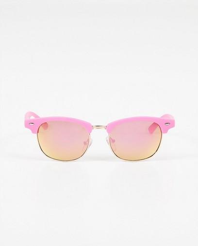 Felroze zonnebril
