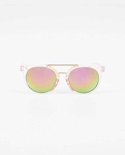 Roze zonnebril - doorzichtig montuur - JBC