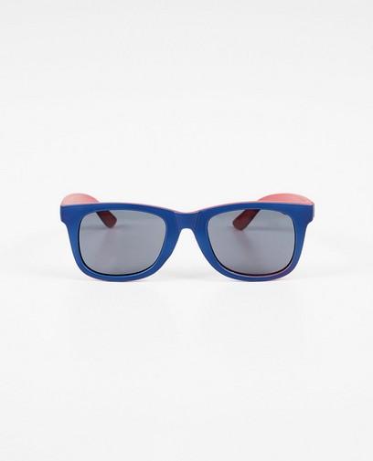 Blau-rote Sonnenbrille