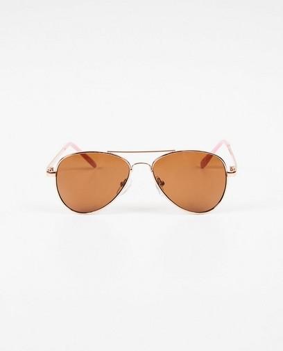 Roze pilotstijl zonnebril