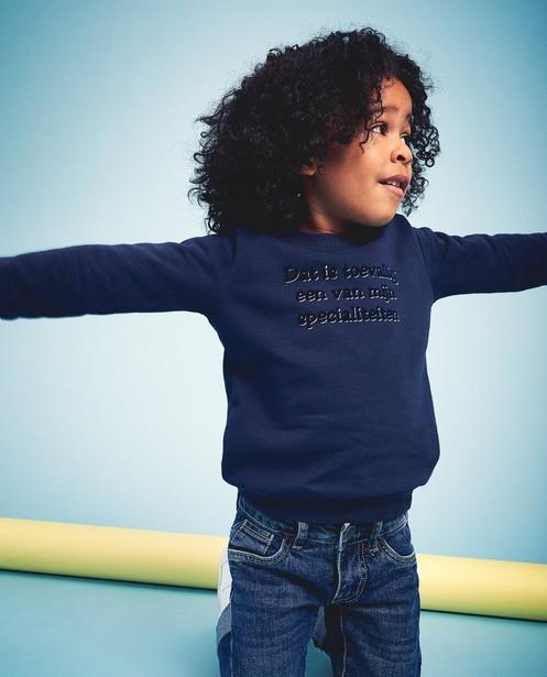 Unisex sweater, Samson en Gert - afscheidscollectie - Samson