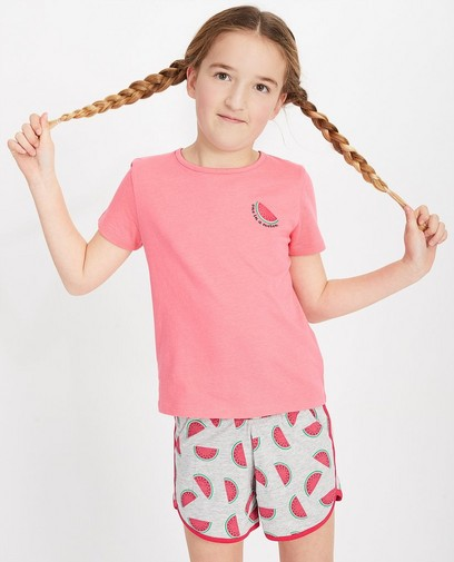 Pyjama rose, 2 pièces