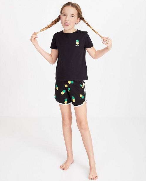 2-delige pyjama in blauwgroen - null - Fish & Chips