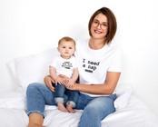 T-shirts - t-shirt met opschrift