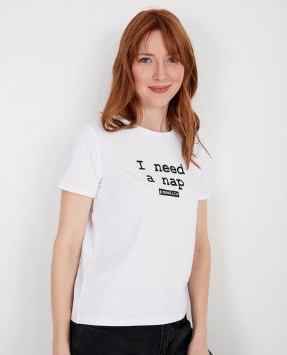 Wit T-shirt - Twinning met je mini