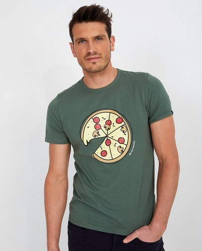Groen T-shirt Twinning met je mini