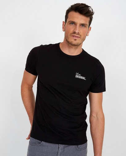 Zwart T-shirt Twinning met je mini