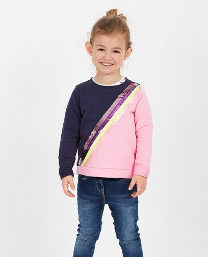 Sweater met pailletten s.Oliver